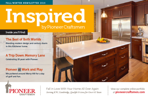 Pioneer Craftsman Newsletter