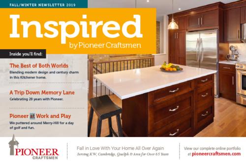 Pioneer Craftsman Newsletter